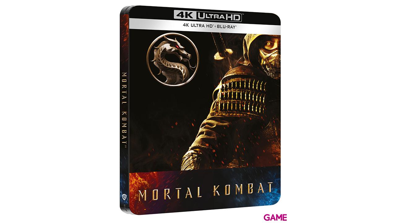 Mortal Kombat 2021 4K UHD + BD Edición Steelbook