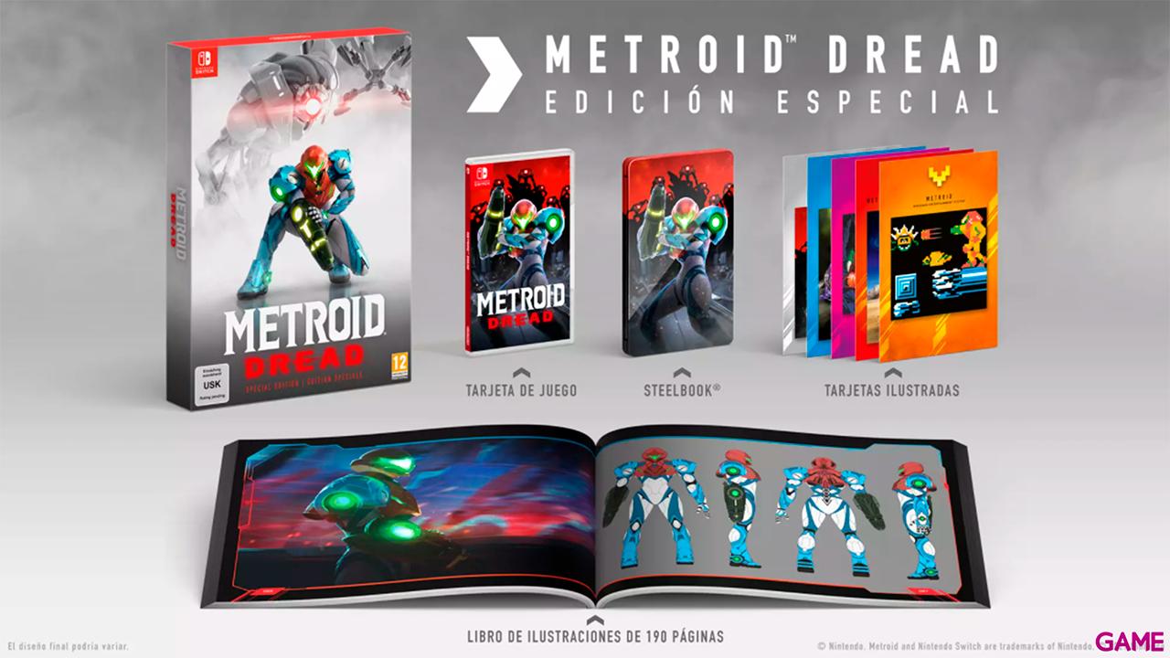 Metroid Dread Edición Especial