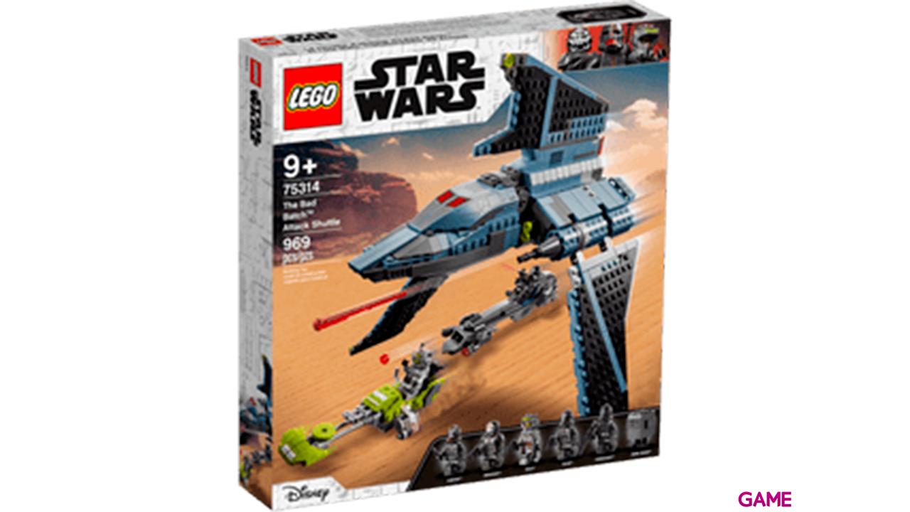 LEGO Star Wars: Lanzadera de Ataque The Bad Batch