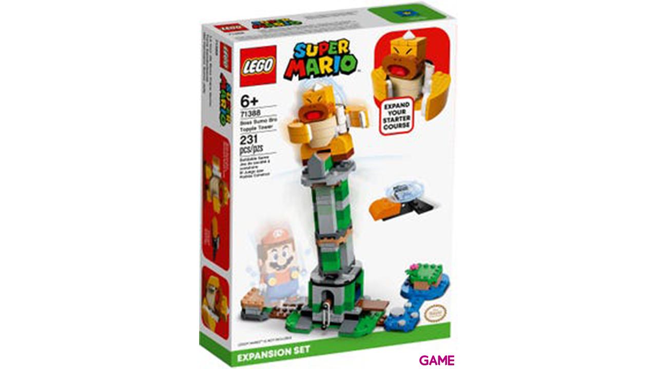 LEGO Super Mario: Torre Bamboleante del Hermano Sumo Jefe