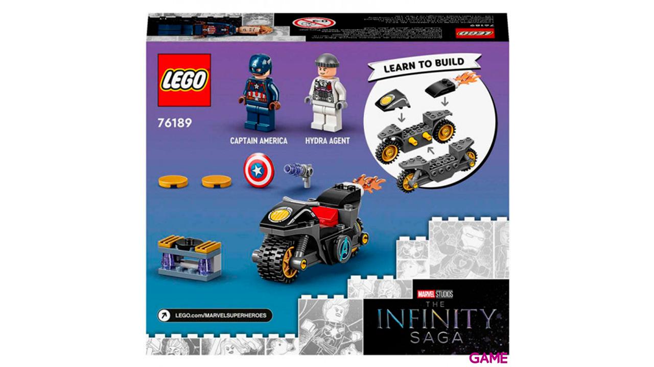LEGO Marvel: Capitán América contra Hydra