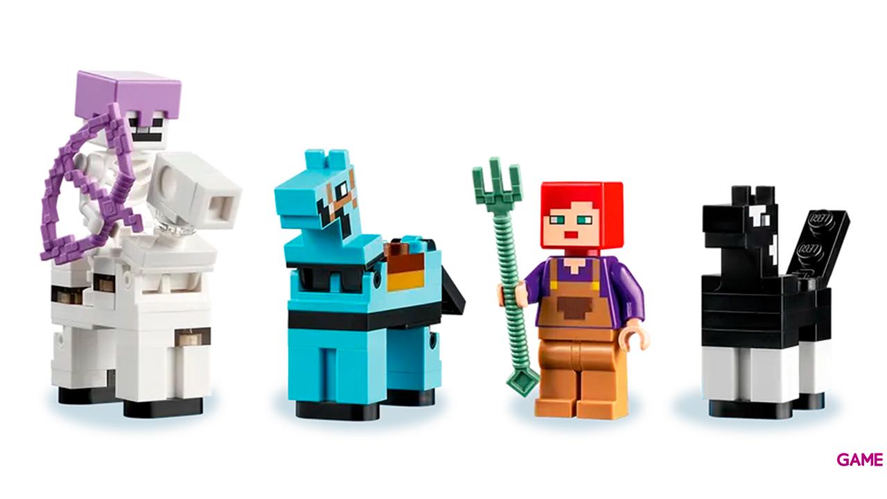 LEGO Minecraft: El Establo de los Caballos