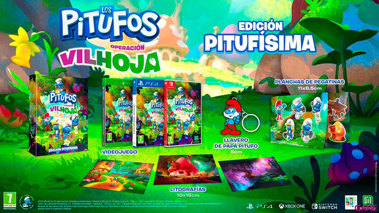 Los Pitufos Operación Vilhoja Edición Pitufísima