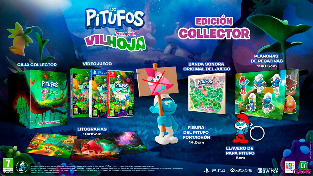 Los Pitufos Operación Vilhoja Edición Collector