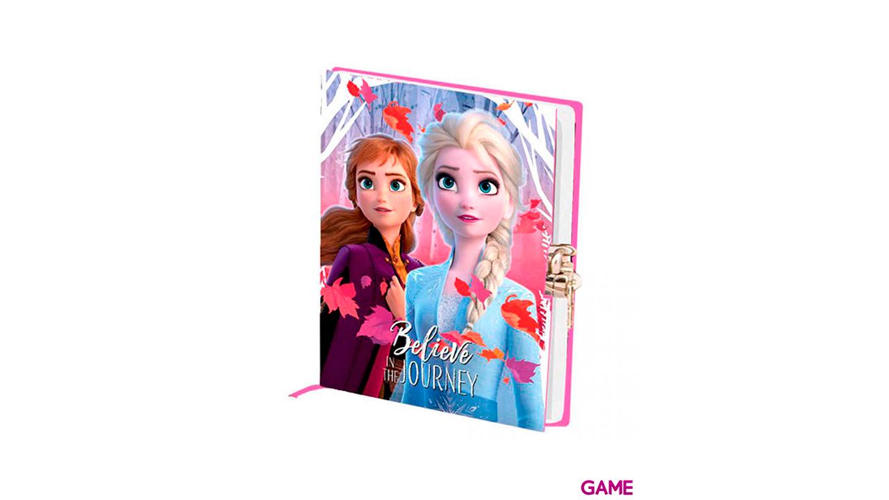 Diario Frozen 2 con Llave