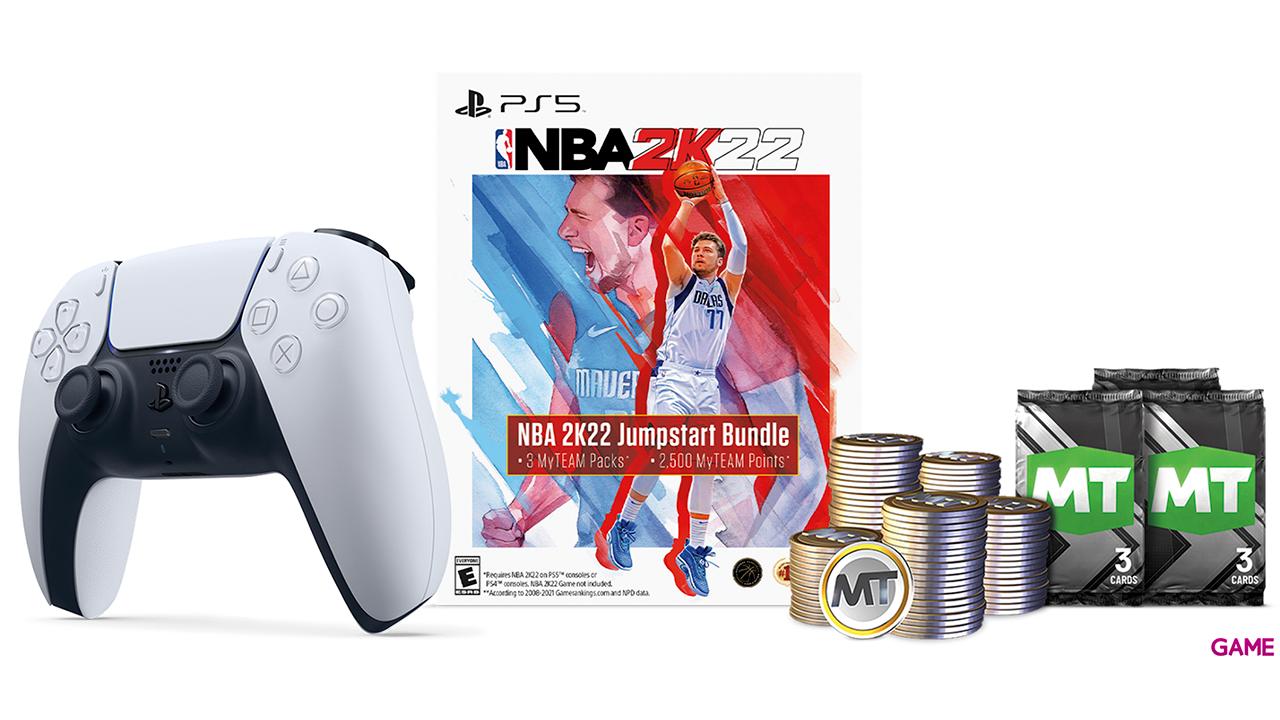 Mando Inalámbrico DualSense + NBA2K22 Voucher