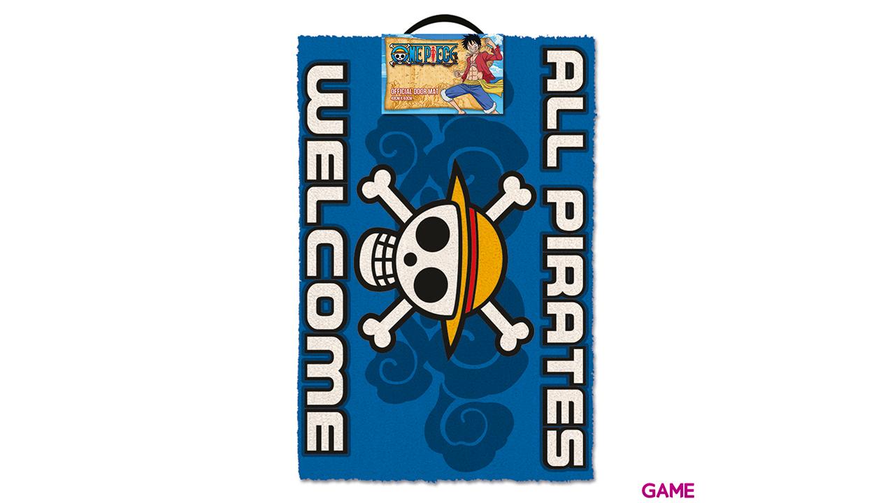 Felpudo One Piece: All Pirates Welcome