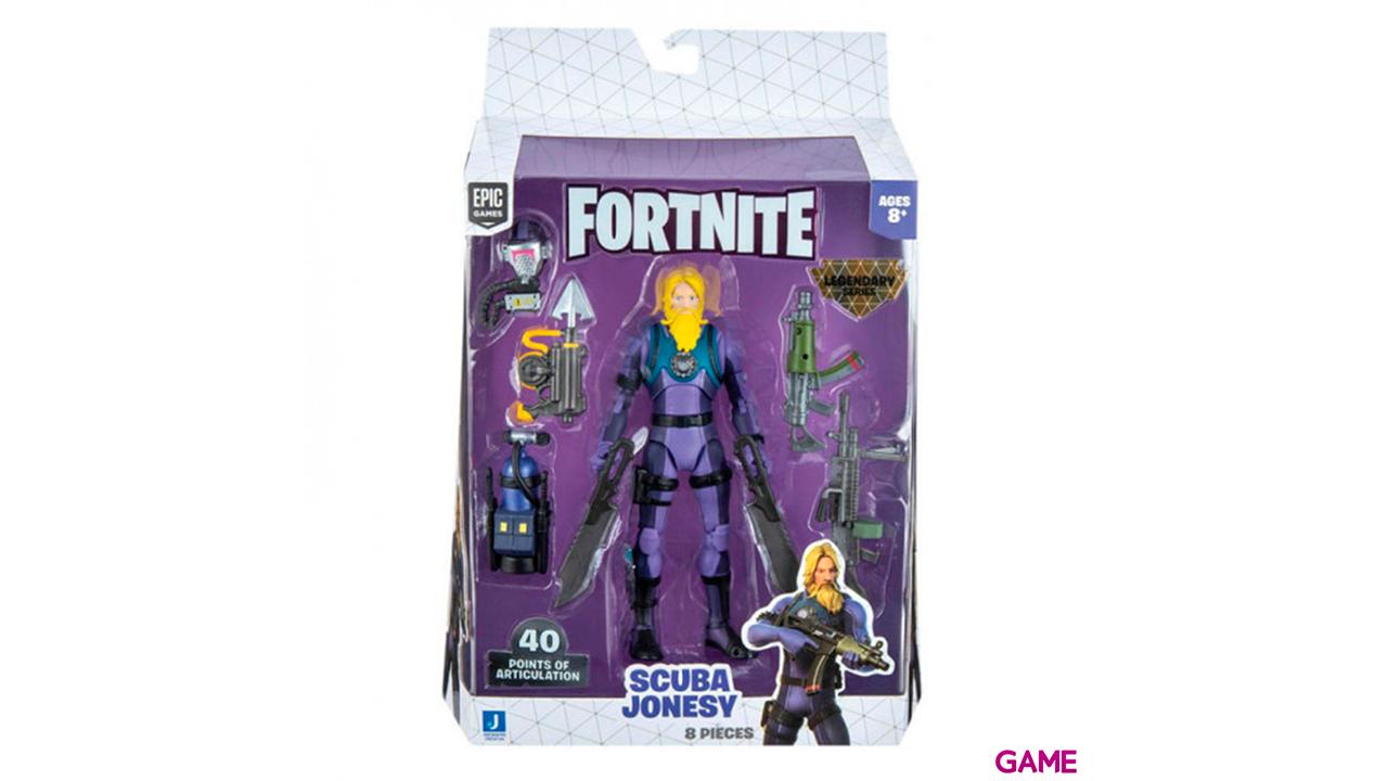 Figura 15cm Fortnite: Scuba Jonesy Legendary Series