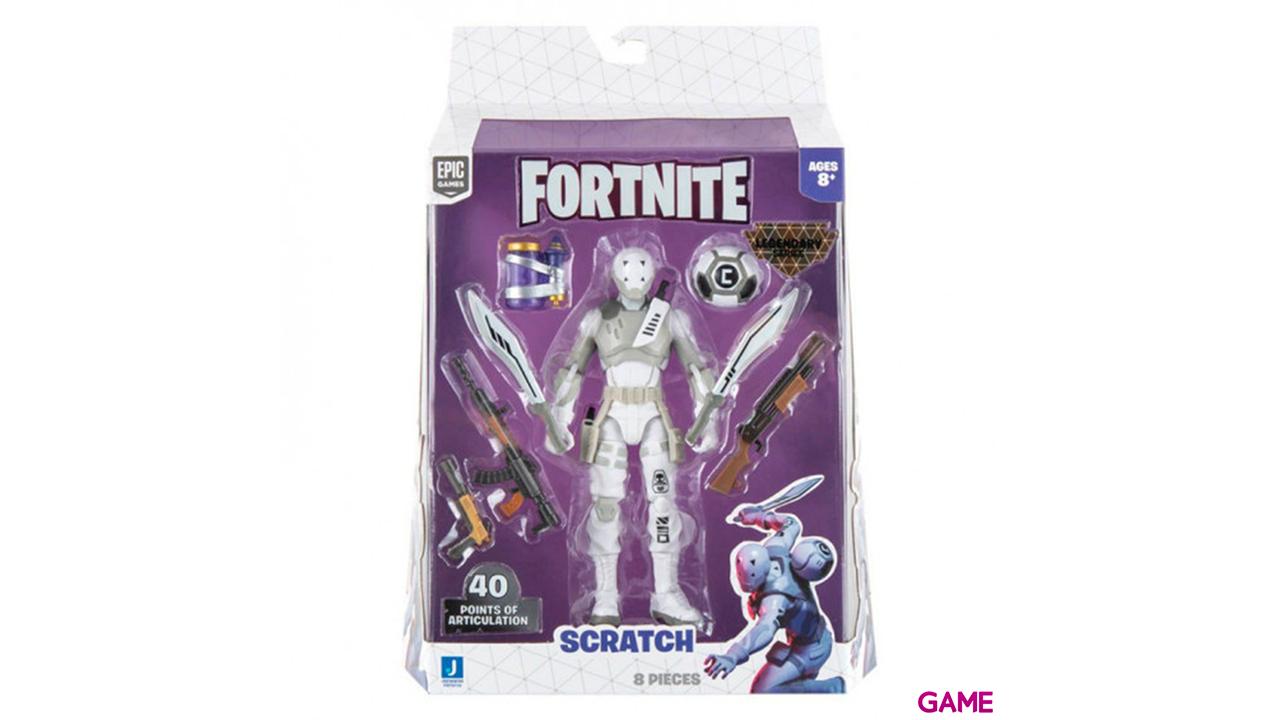 Figura 15cm Fortnite: Scratch Legendary Series