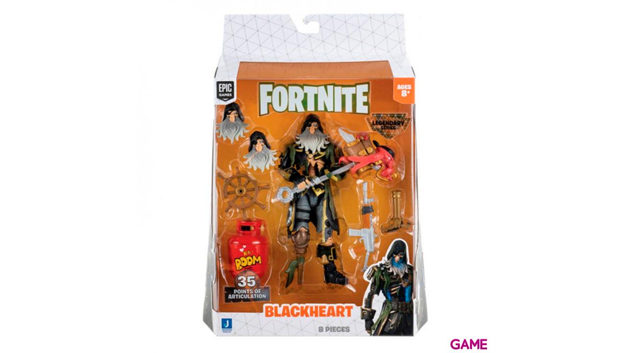 Figura 15cm Fortnite: Blackheart Skeleton Legendary Series