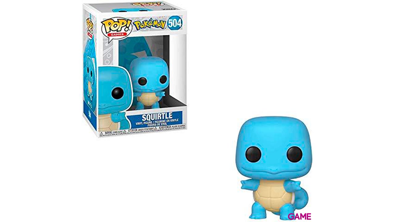 Figura Pop Pokemon: Squirtle