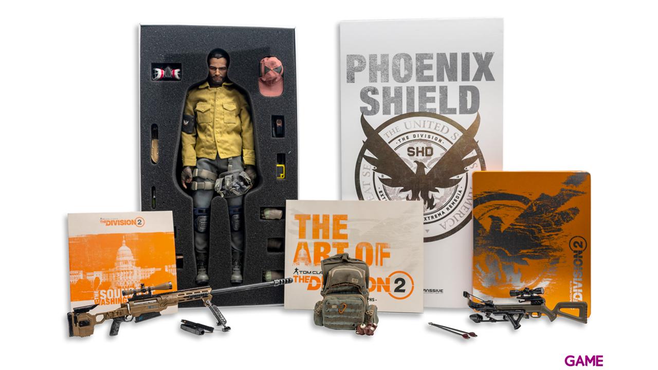 The Division 2 + figura Phoenix Shield