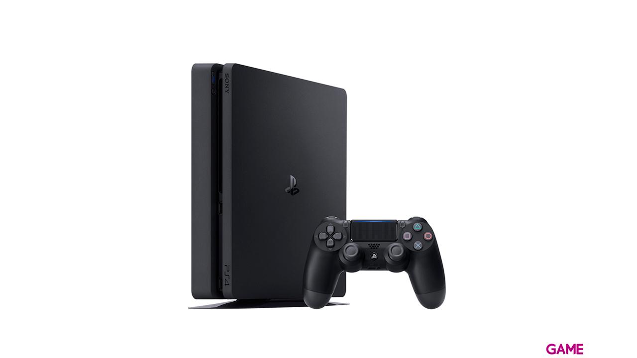 PlayStation 4 Slim 500GB + FIFA 21 + Fallout 76 + Far Cry New Dawn