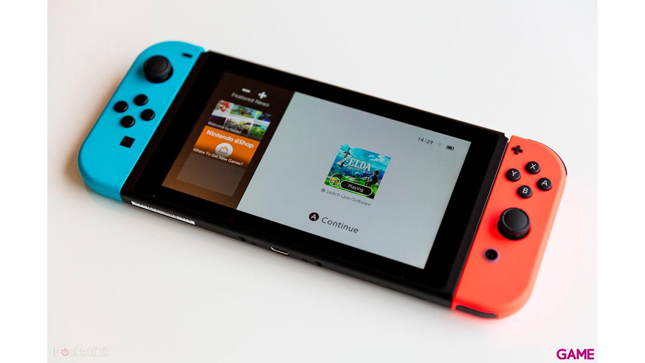 Nintendo Switch + Juego a elegir