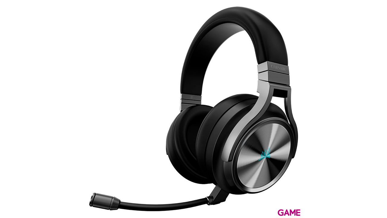 Corsair Virtuoso RGB Wireless SE- 7.1 PC-PS4-PS5 - 3.5mm - XBOX-SWITCH-MOVIL - Auriculares Gaming Inalámbricos