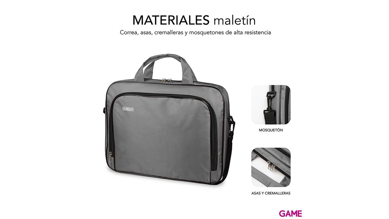SUBBLIM Maletín Ordenador Oxford Laptop Bag 11-12,5