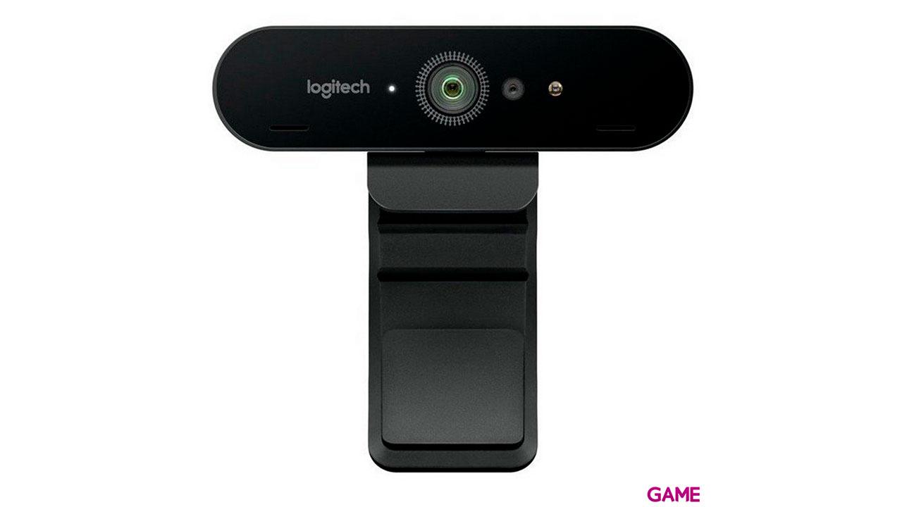 Logitech BRIO cámara web 4096 x 2160 Pixeles USB 3.2 Gen 1 (3.1 Gen 1) Negro
