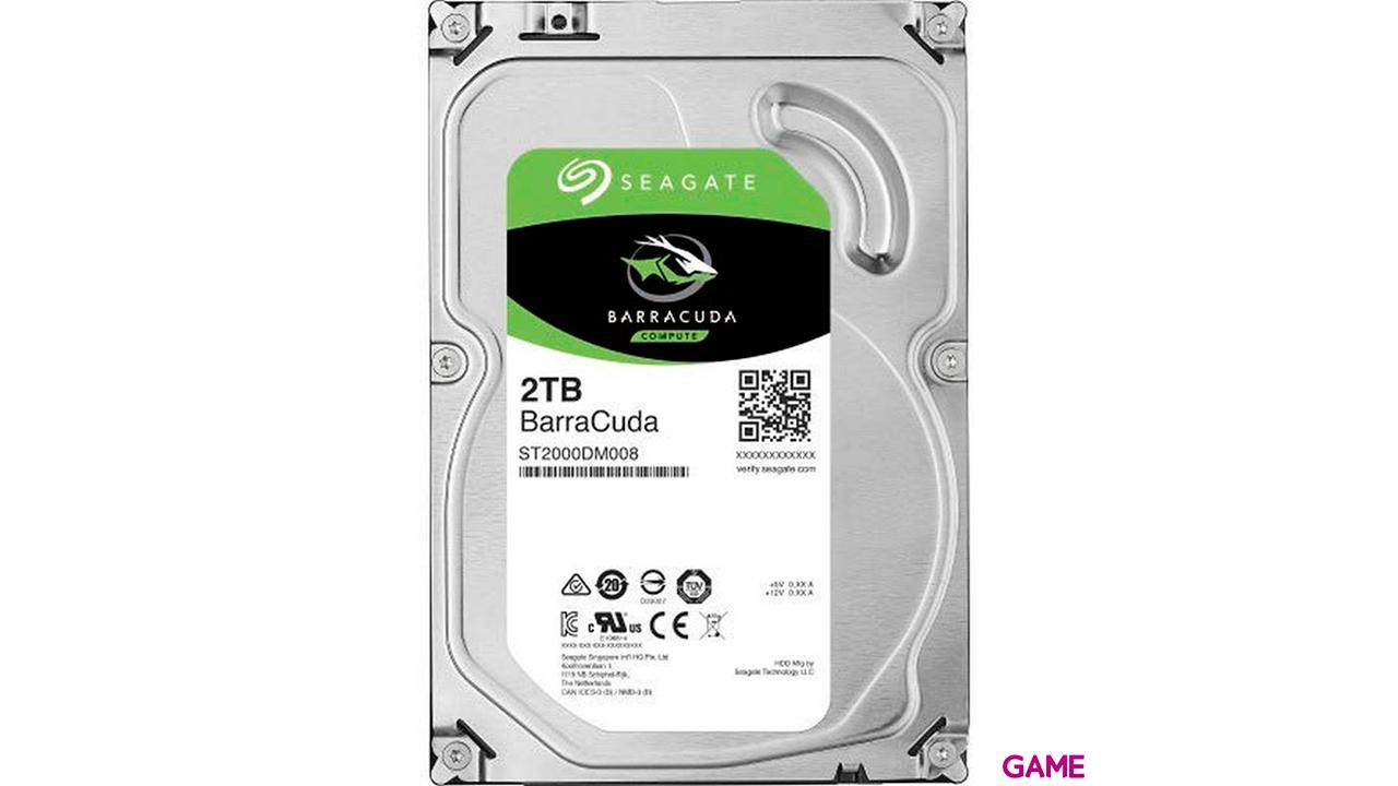 Seagate Barracuda ST2000DM008 disco duro interno 3.5