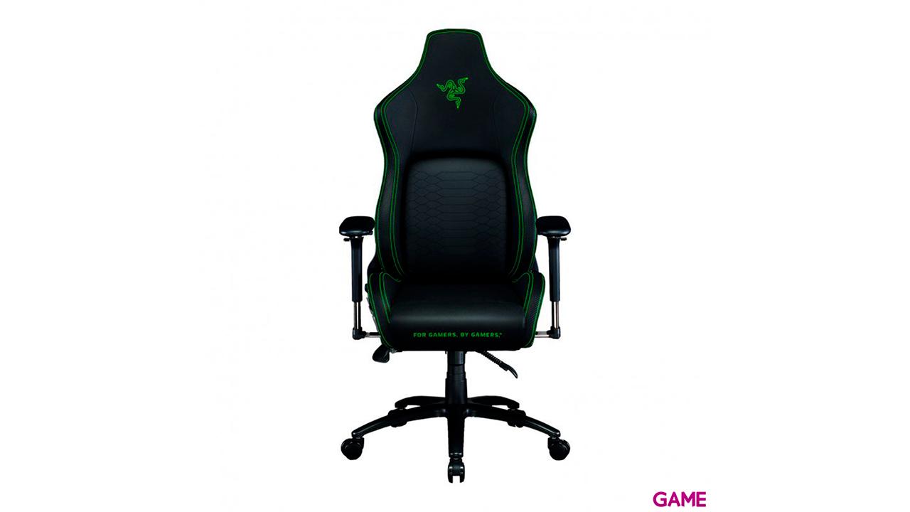Razer Iskur Negro-Verde - Silla Gaming