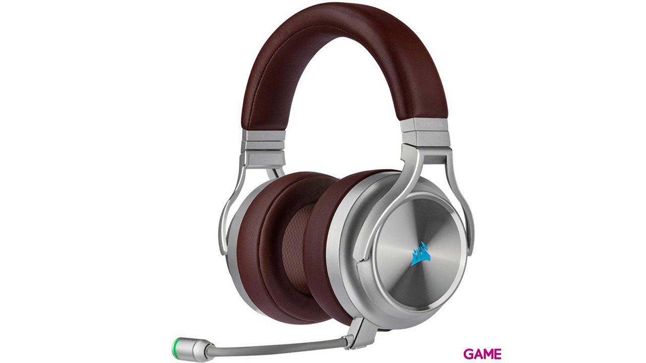 Corsair VIRTUOSO RGB Wireless Café -7.1 PC-PS4-PS5 - 3.5mm - XBOX-SWITCH-MOVIL  - Auriculares Gaming Inalámbricos