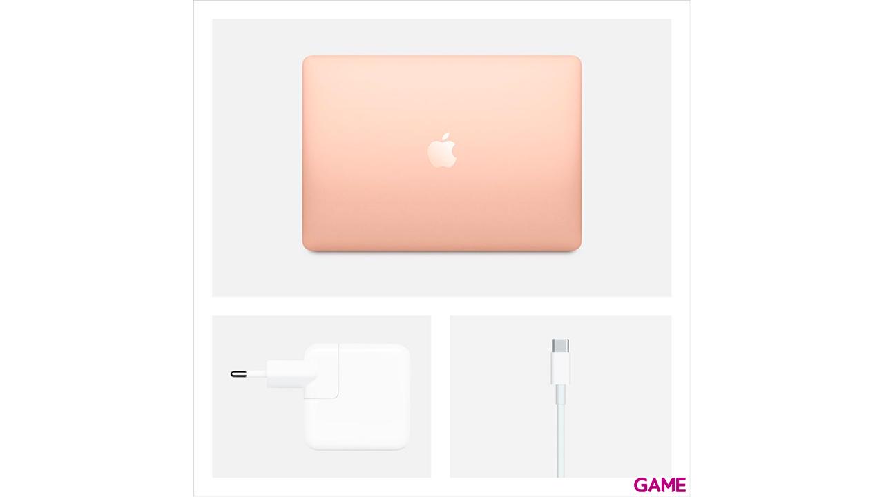 Apple MacBook Air Portátil Oro 33,8 cm (13.3