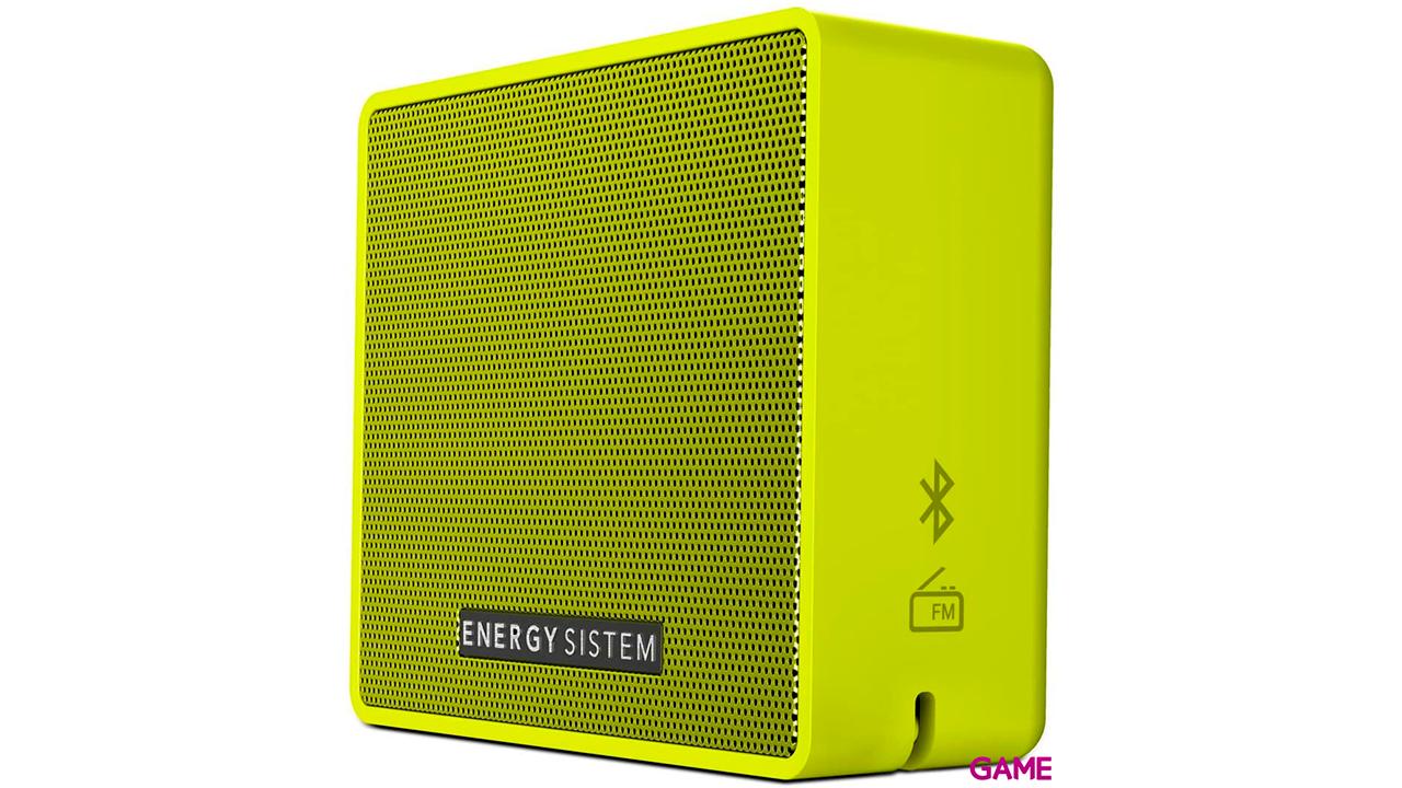 Energy Sistem Energy Music Box 1+ Altavoz monofónico portátil Amarillo 5 W
