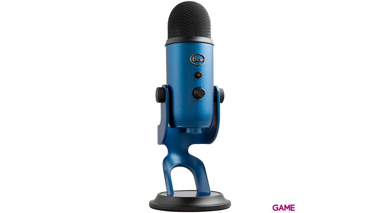 Blue Microphones Yeti Azul Plata - Microfono