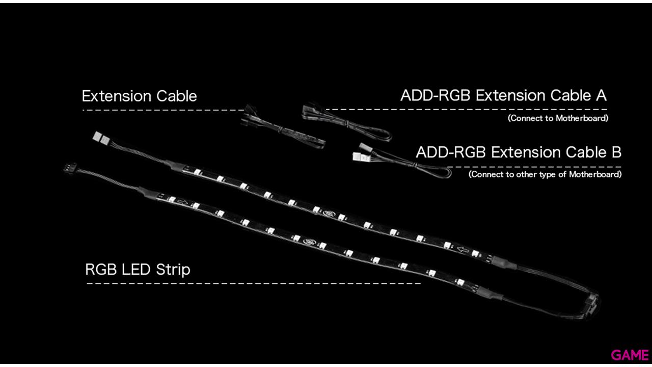 DeepCool DP-LED-RGB200PRO parte carcasa de ordenador Kit de luces para torre de ordenador