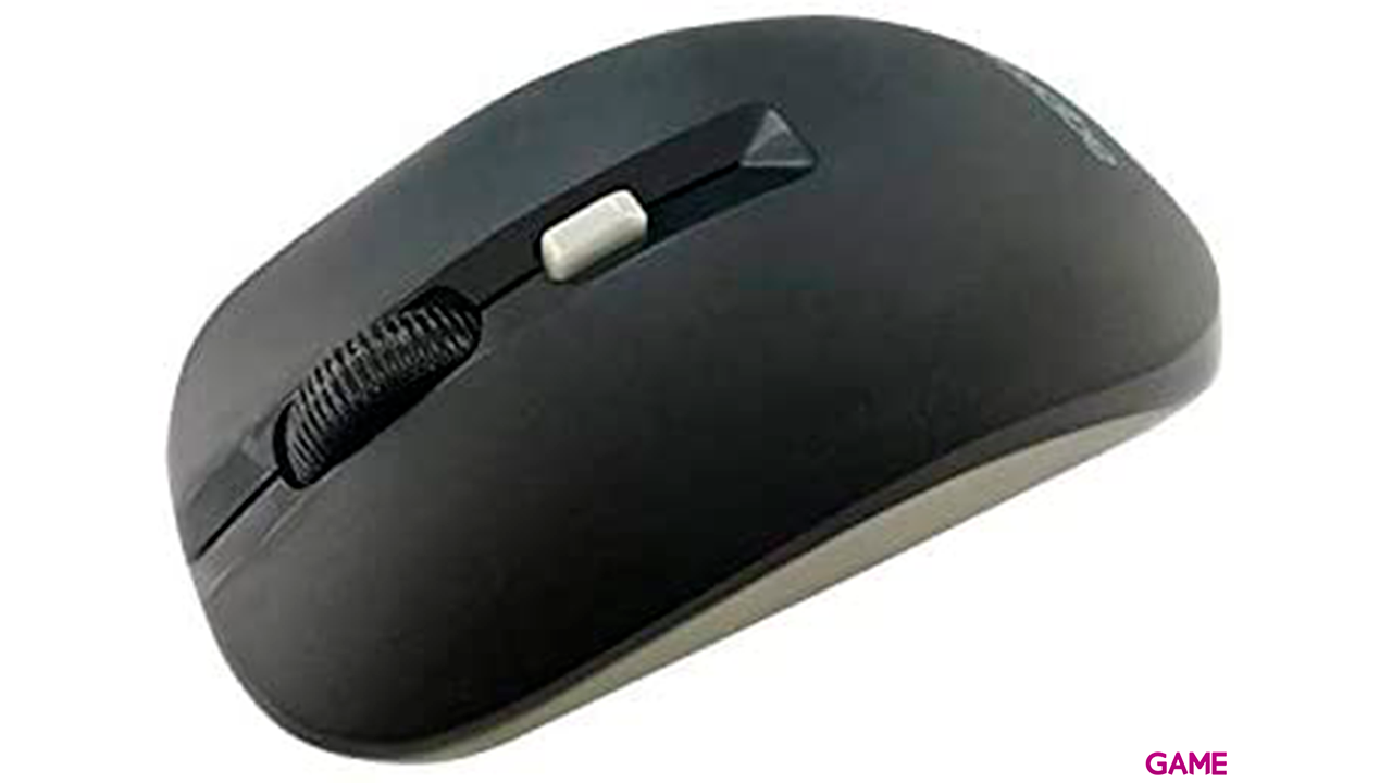 Approx APPXM180BG ratón mano derecha RF inalámbrico Óptico 1600 DPI