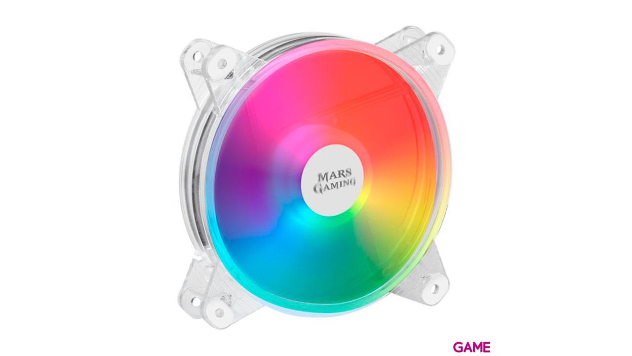 Mars Gaming MFD 120mm Transparente - Ventilador Caja