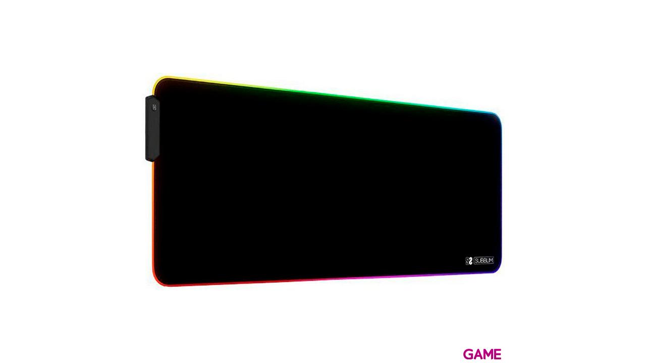Subblim RGB Extra Grande - Alfombrilla Gaming