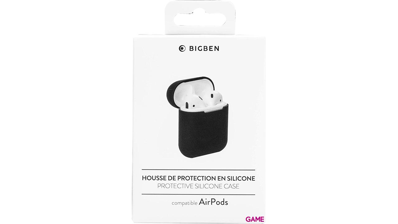 Bigben Connected AIRPODCASEB auricular / audífono accesorio Funda