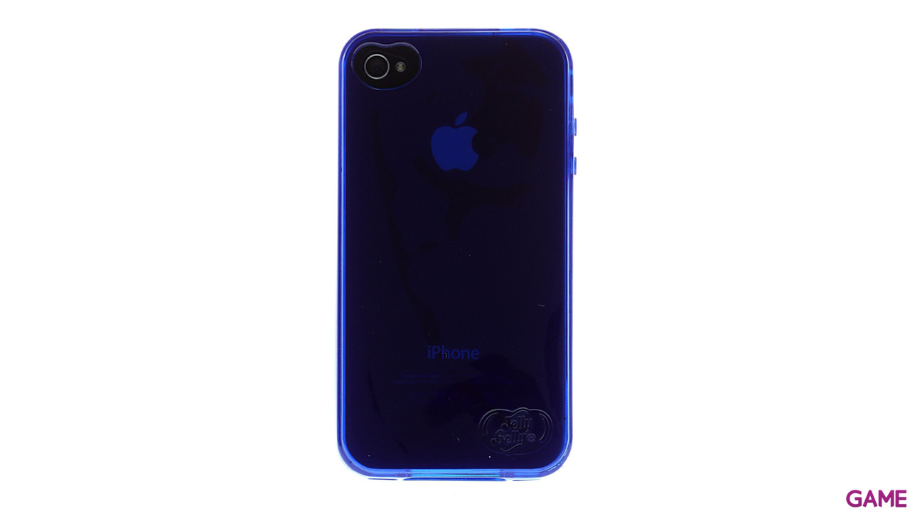 Carcasa Jelly Belly iPhone 4 Blueberry azul