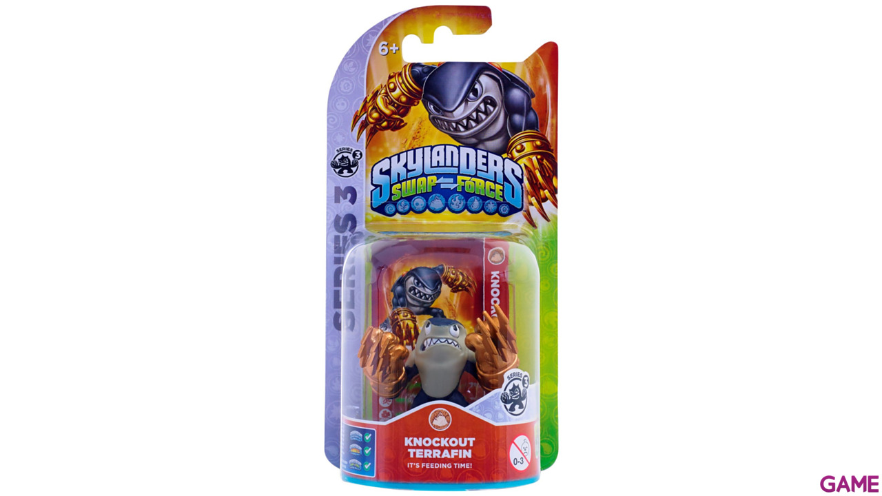 Figura Skylanders Swap Force: Knockout Terrafin