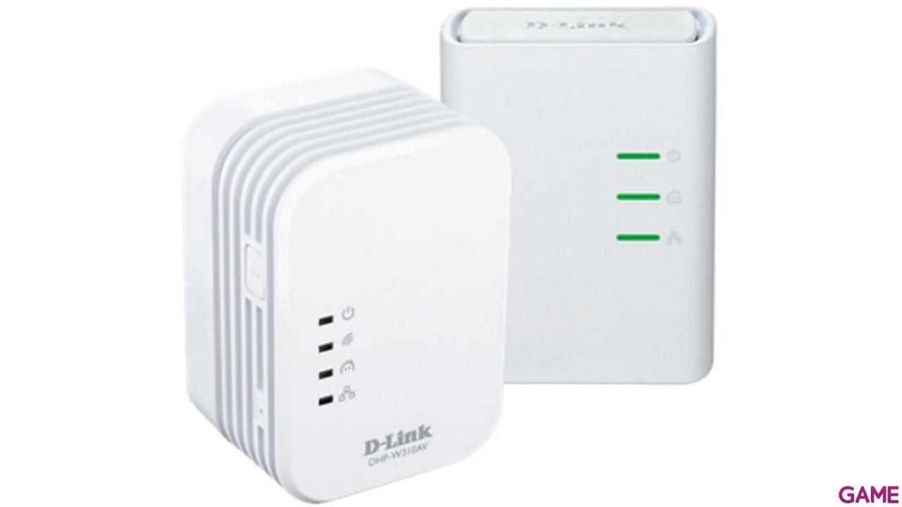 D-Link PowerLine AV 500 Wireless N Mini Kit