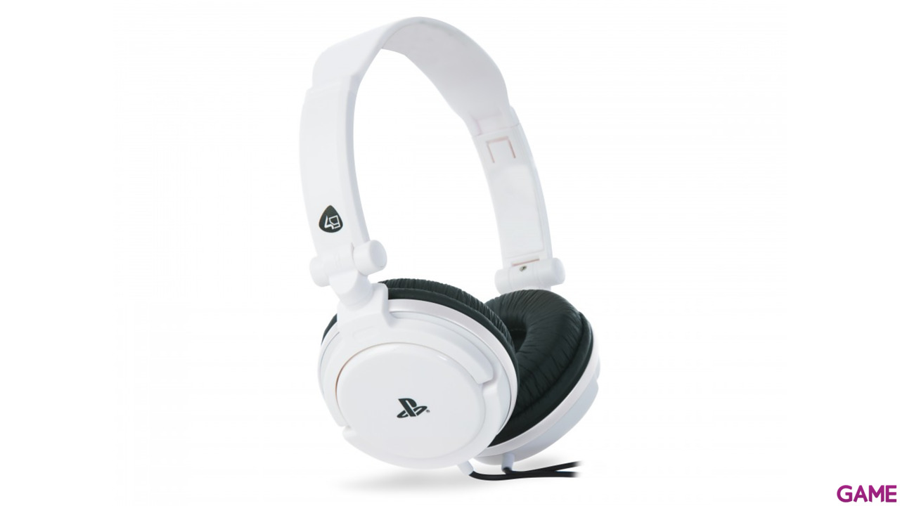 Stereo Gaming Headset Blanco PS4-PSV Oficial