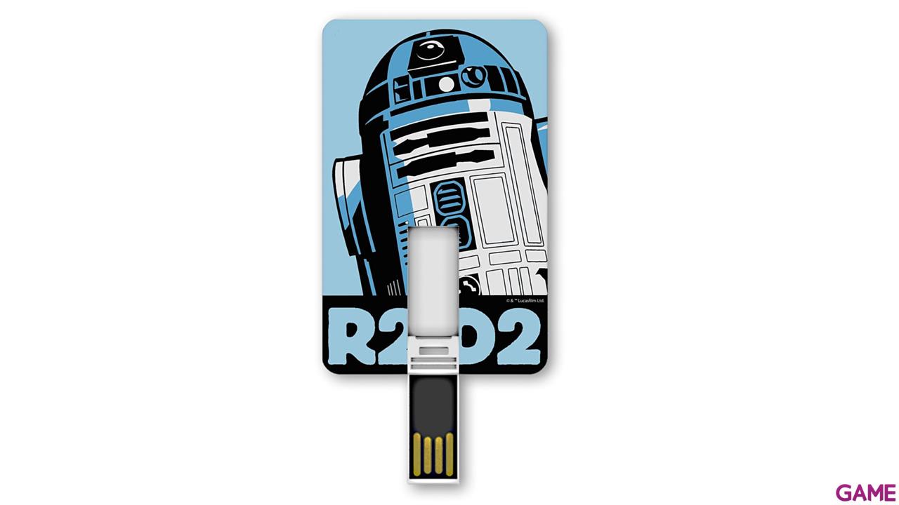Memoria Tarjeta USB 8GB Star Wars R2-D2