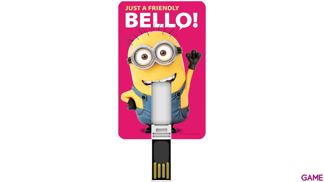 Memoria Tarjeta USB 8GB Minions Minion Friendly
