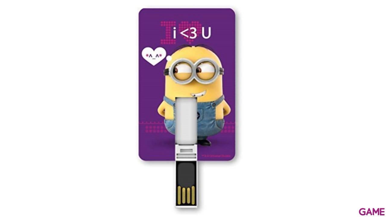 Memoria Tarjeta USB 8GB Minions Minion Love