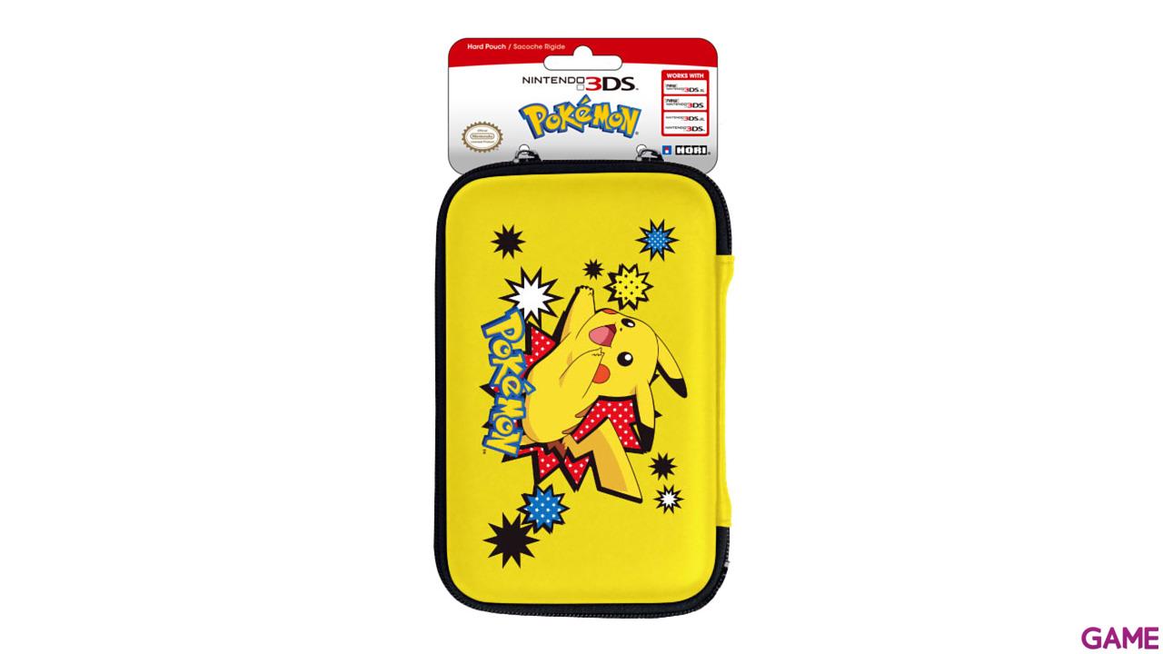 Bolsa rígida New3DSXL Pokemon Hori -Licencia oficial Nintendo-