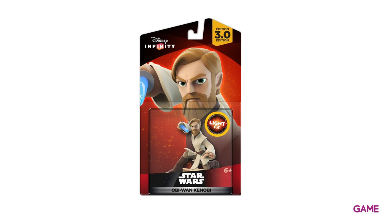 Disney Infinity 3.0 Star Wars Figura Obi Wan Light Up
