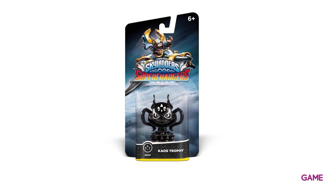Figura Skylanders SuperChargers Kaos Trophy