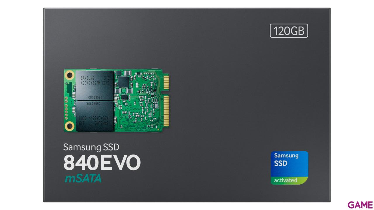 Samsung 850 EVO 120GB SSD mSata