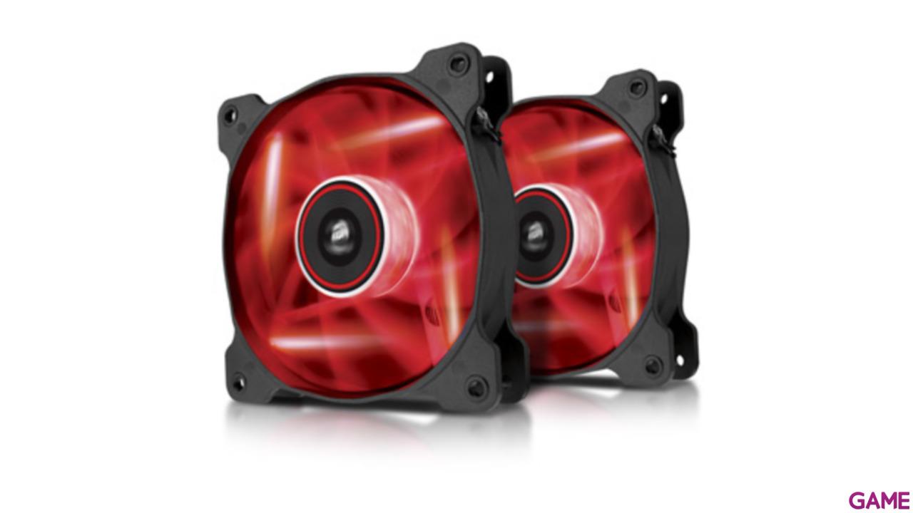 Corsair AF120 LED Rojo Dual Pack