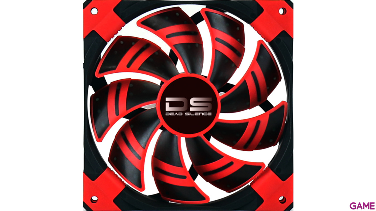 Aerocool Ds Fan 120mm Rojo