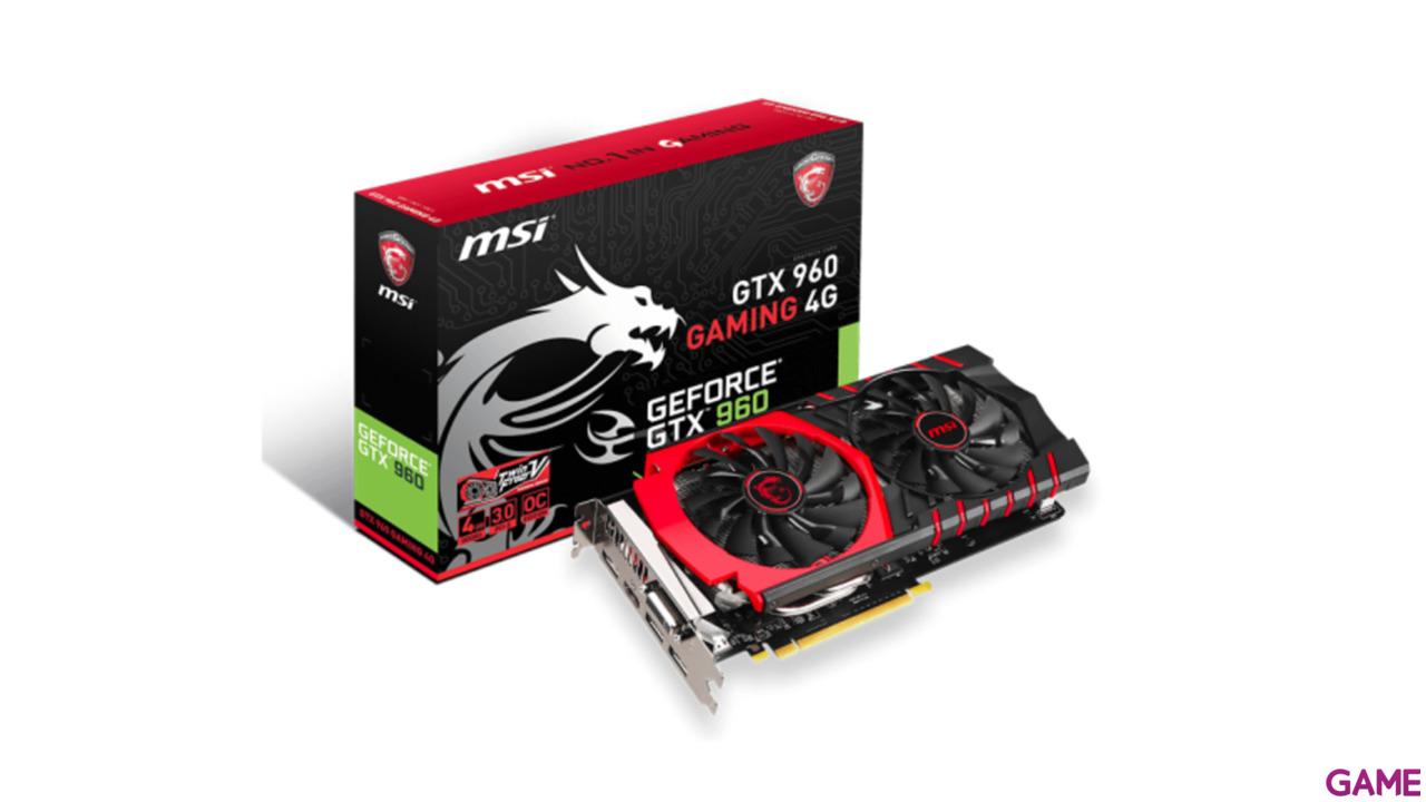 MSI Nvidia Gtx 960 Gaming 4G