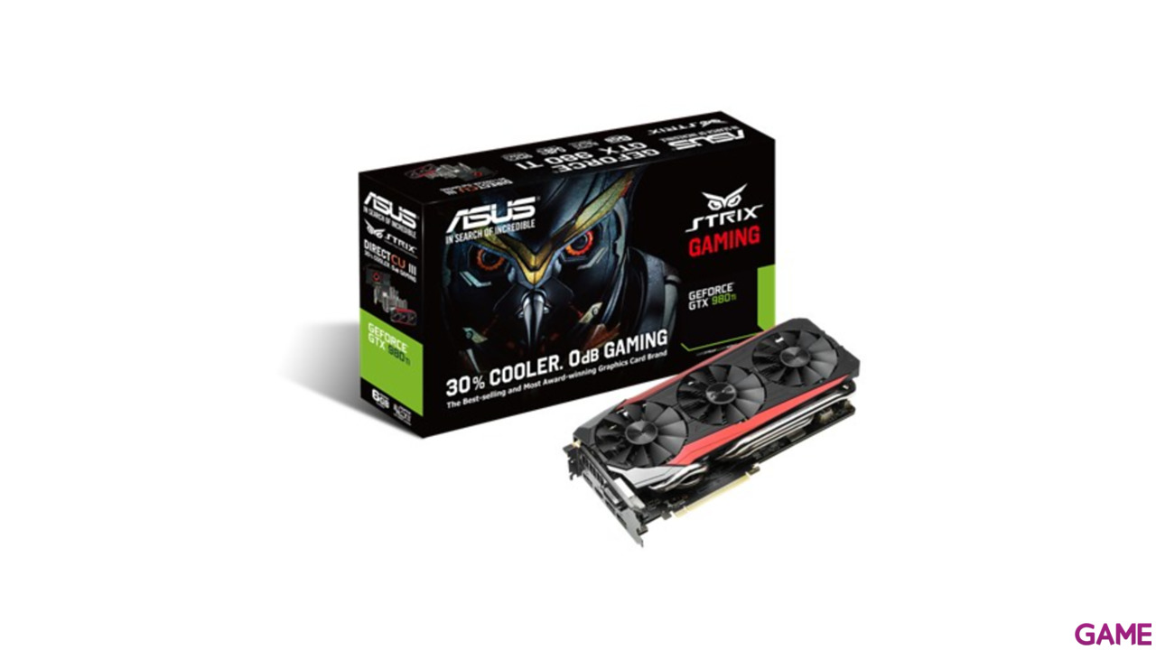 Asus Strix GeForce GTX 980Ti 6G