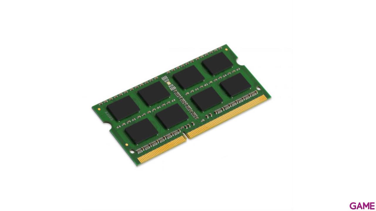 Kingston Single Rank Memoria Ram Sodimm Ddr3 4Gb 1600Mhz