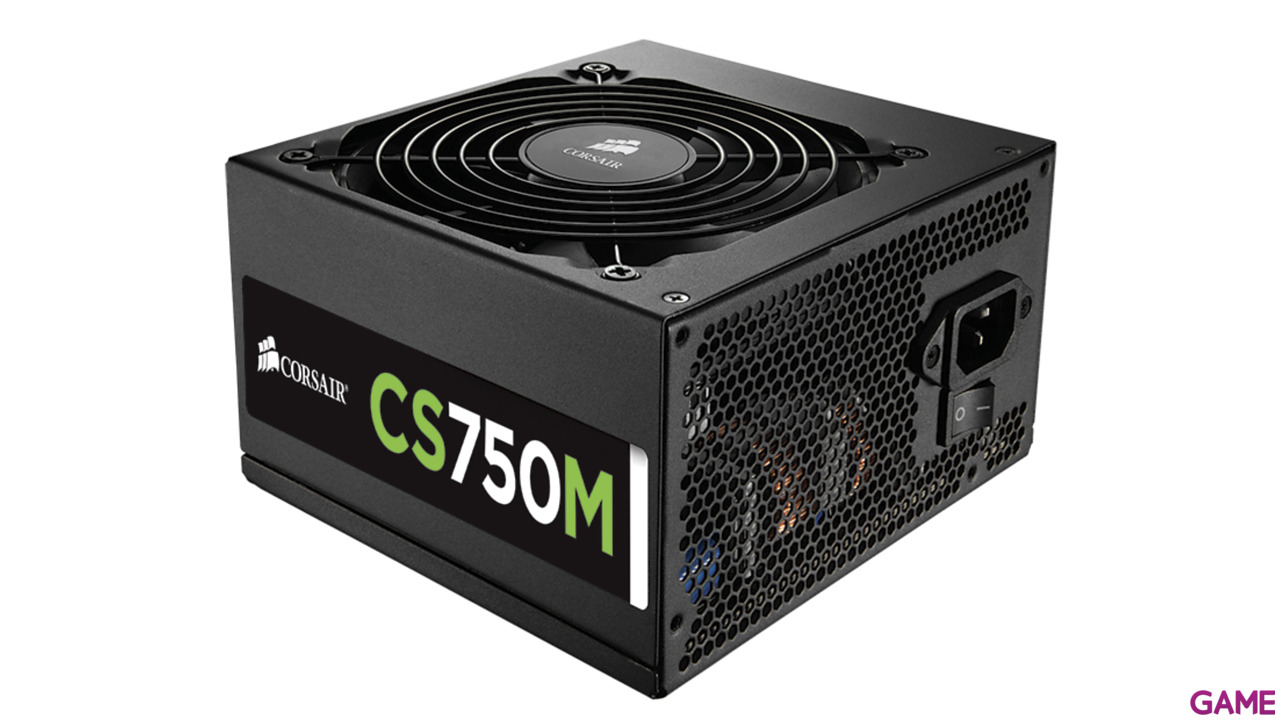 Corsair CS750M 750W 80+ Gold Semi-Modular
