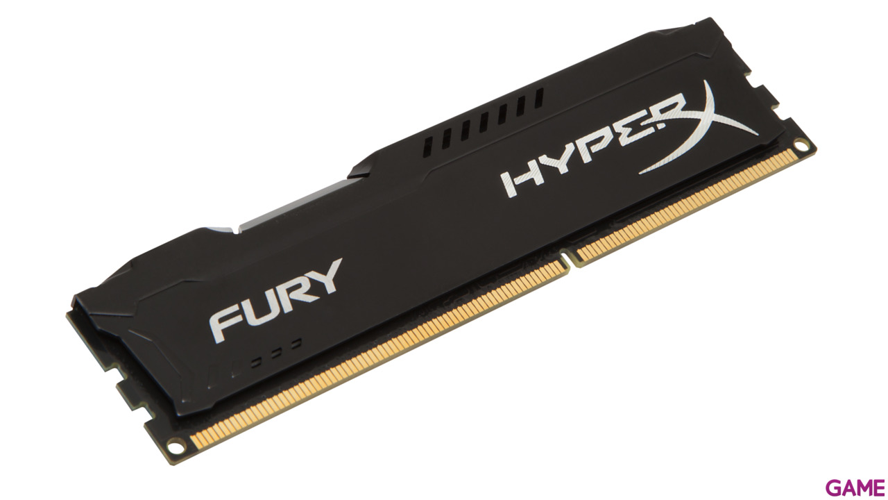 Kingston HyperX Fury Negro DDR3 4GB 1866Mhz CL10